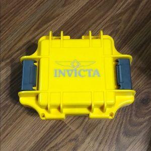 Invicta One Slot Impact Dive Case-Yellow
